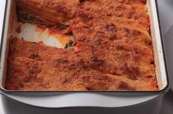 Manicotti Baresi al Forno Recipe