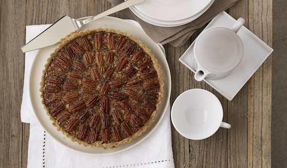 Maple Pecan Tart with Dried Cherries Recipe