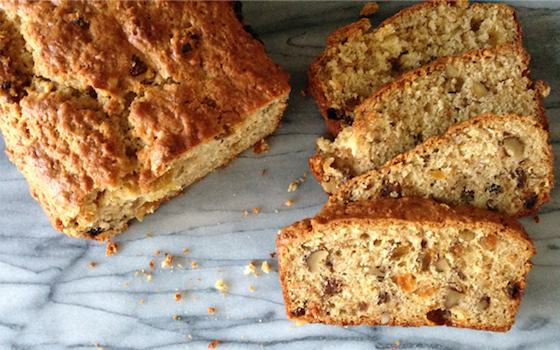 Maple-Walnut Raisin Bread  Recipe
