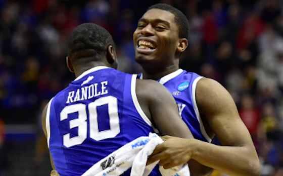 Harrison Twins Help Kentucky Shock Wichita State