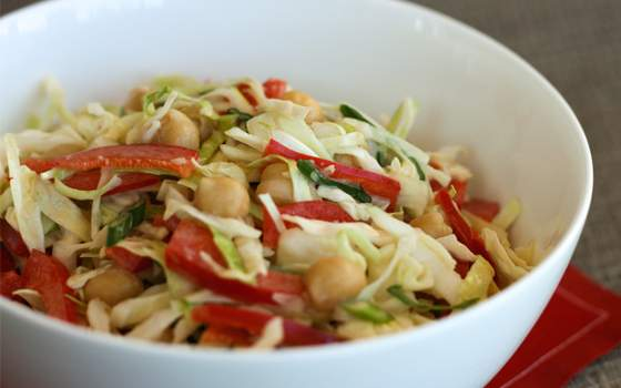 Chickpea Coleslaw Recipe