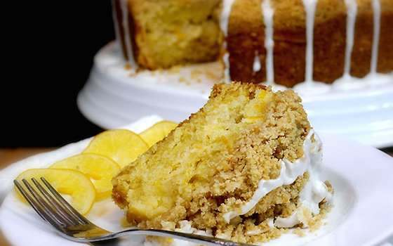 Meyer Lemon Coffee Cake Recipe