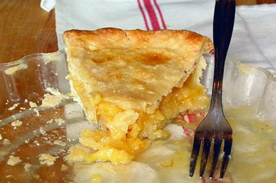 Meyer Lemon Shaker Pie Recipe
