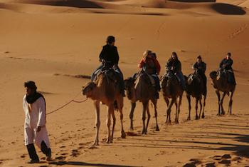 Morocco: Land Of 'A Thousand Welcomes' - Camel trekking in Erg Chebbi