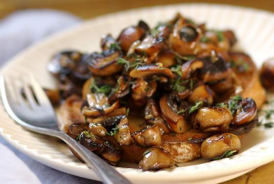 Mushrooms on Toast: A Light, Surprisingly Satisfying Supper Recipe