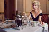 Michelle Williams and Eddie Redmayne in My Week with Marilyn