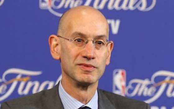 NBA Commissioner Adam Silver Wants to Legalize Sports Betting