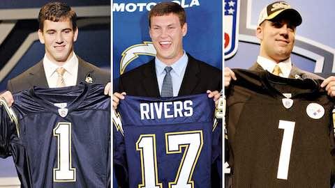 16 Seasons of Eli Manning, Philip Rivers & Ben Roethlisberger