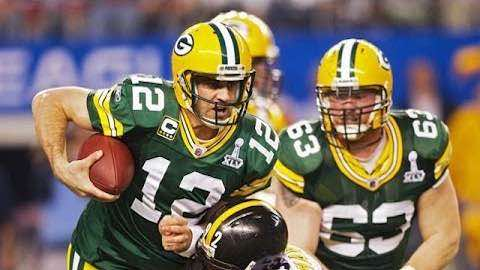 ​​​NFL Kicks Off 100th Season - Aaron Rodgers