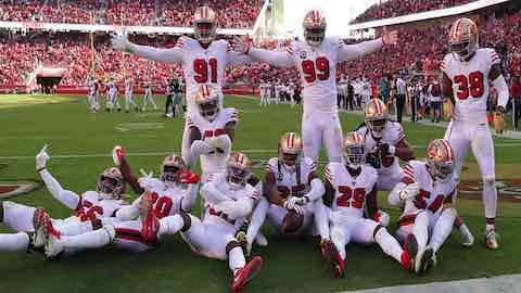 NFL NFC West Battle Highlights Week 10