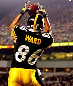 Hines Ward WR Steelers Cardinals Steelers Super Bowl XLIII Tampa Bay Florida February 1, 2009
