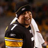 Ben Roethlisberger Quarterback of the defending Super Bowl Champion Pittsburgh Steelers