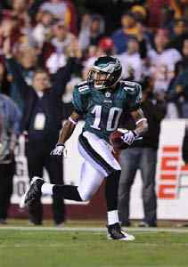 Eagles WR De Sean Jackson