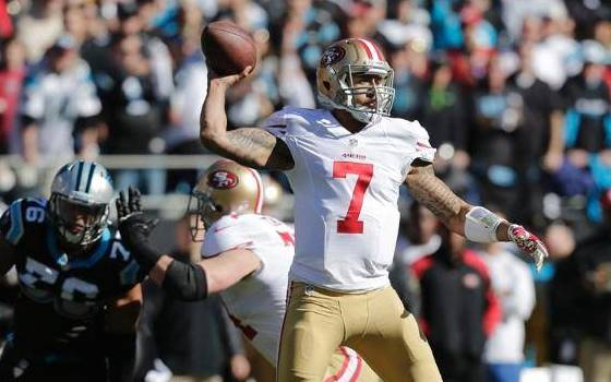 Colin Kaepernick Shines as 49ers Beat Panthers to Advance to NFC Championship