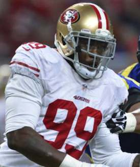 49ers Linebacker Aldon Smith Charged with Illegal Possession of Assault Weapons