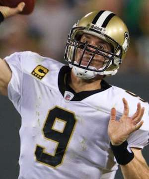 Cool Brees: QB Drew Brees Leads Saints