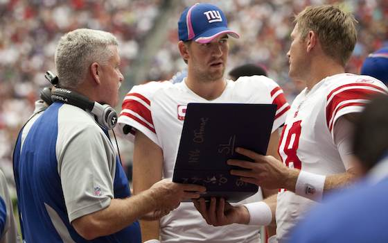Giants Offensive Coordinator Kevin Gilbride to Retire