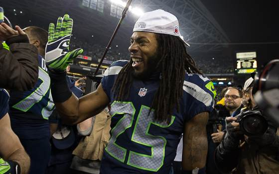Seahawks' Sherman: 'Crabtree is Mediocre'