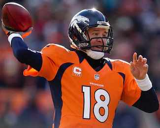 Broncos Start Fast, Manning Climbs NFL Record Books