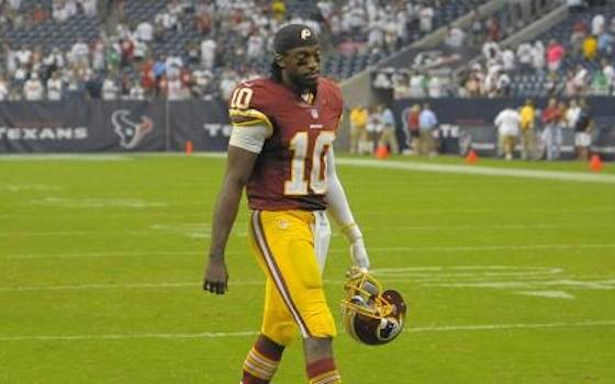 NFL 2014: Is This the End for Robert Griffin III?