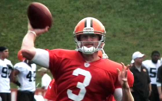 Ex-Browns QB Brandon Weeden signs with Cowboys