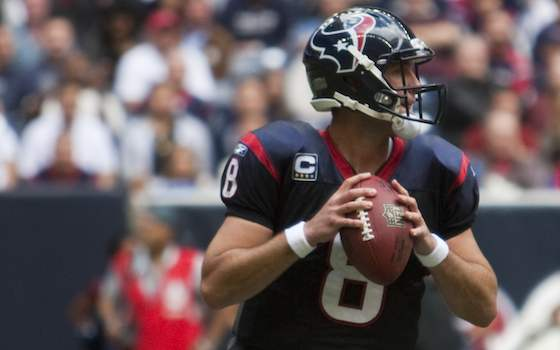 Raiders to Trade Late-Round Pick for QB Matt Schaub