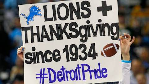 Thanksgiving Day Football: A Tradition For Generations