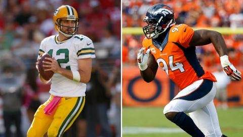 Packers Face Broncos in Matchup of 6-0 Teams