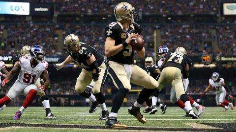 Week 8 Review: Saints and Giants Set Record