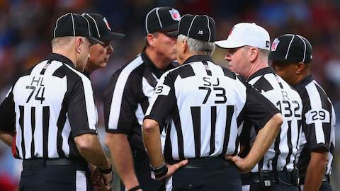 NFL to Experiment with Eighth Official