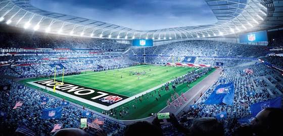 NFL to Play in Tottenham Hotspur's New Stadium