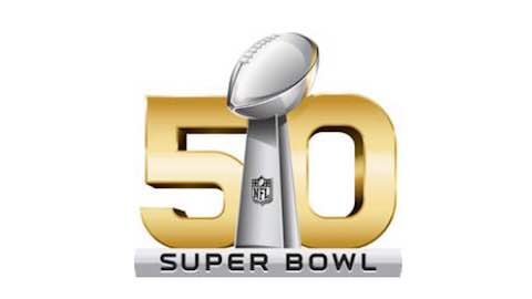Super Bowl is On The Fifty - Super Bowl 50 Logo