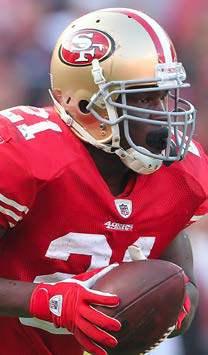 49ers Running Back Frank Gore