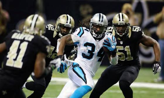 NFL 2013 Week 16: Panthers and Saints Face Off in NFC South Matchup