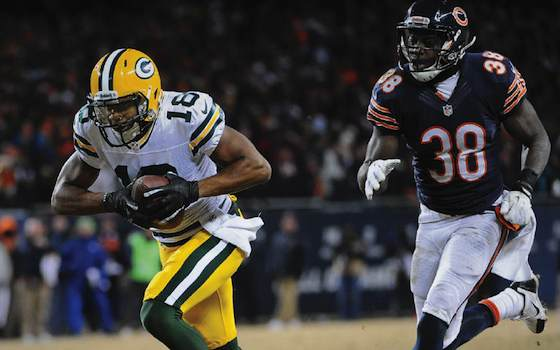 Aaron Rodgers and Randall Cobb Connect as Packers Beat Bears