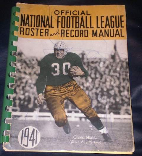 1941: NFL Publishes First Record Manual