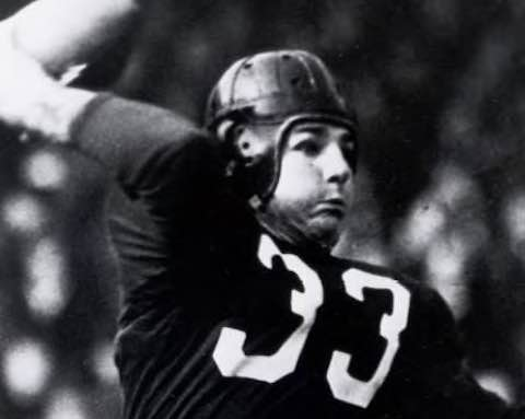 Washington Quarterback Sammy Baugh