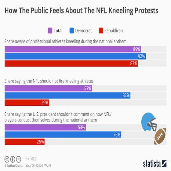 NFL Kneeling Protests: The Public Perception