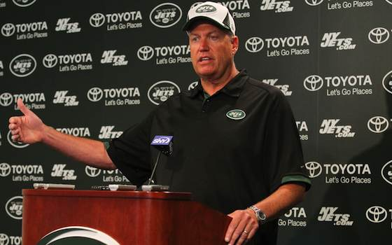 Jets Retain Rex Ryan as Head Coach