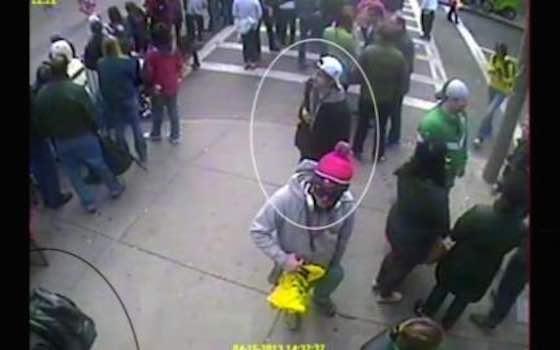 New Boston Bombing Video
