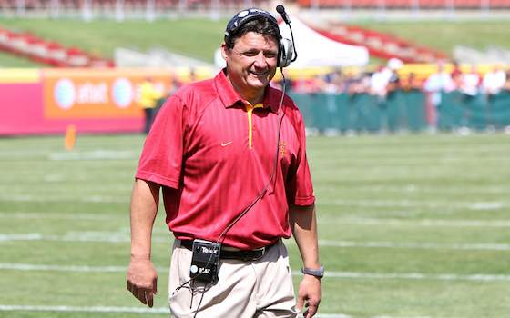 New USC Coach Steve Sarkisian to Reach Out to Ed Orgeron Anew