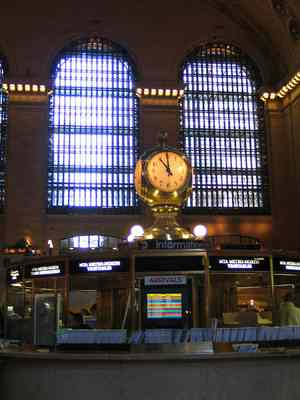 The Information Booth - Grand Central Terminal
