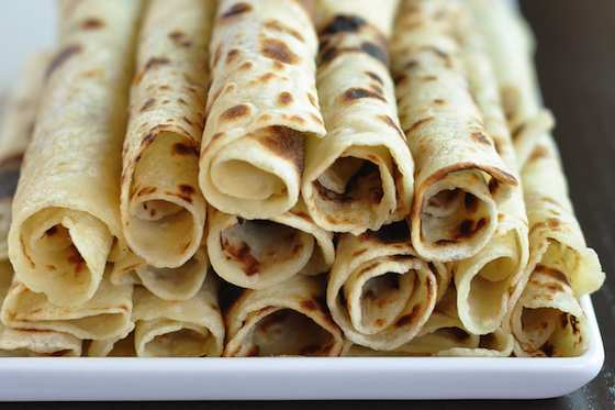 Norwegian Potato Lefse Flatbread Recipe