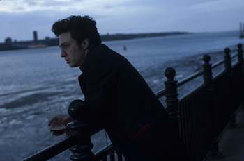 Nowhere Boy - Aaron Johnson & Anne-Marie Duff  in the movie Nowhere Boy