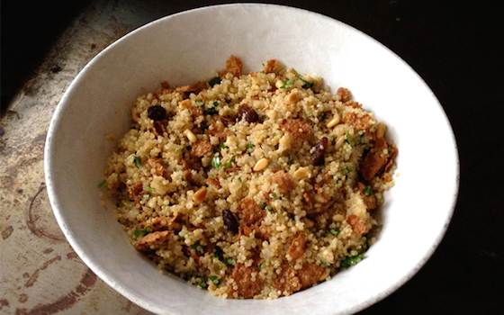 Nutty Quinoa Side Dish Recipe