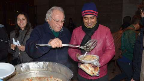 Octogenarian Italian Feeds the Poor with Food Waste