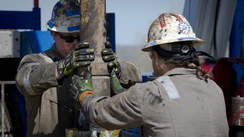 Oil's Downfall Aided by Rise of Fracking