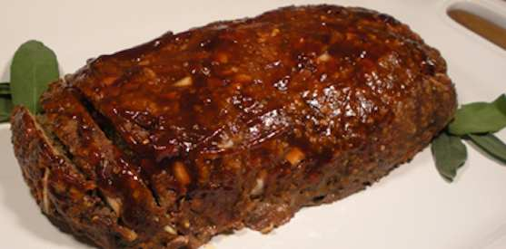 Old-fashioned Glazed Meatloaf
