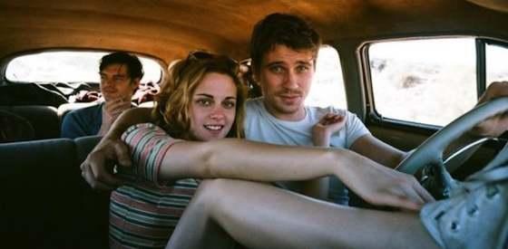 Kristin Stewart and Garrett Hedlund  in 'On the Road'