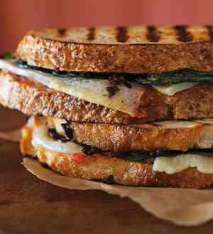 One Fancy Grilled Cheese Sandwich